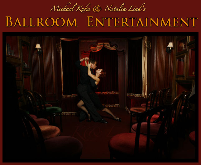 Professional Ballroom Entertainment by Michael Kuka and Natalia Lind