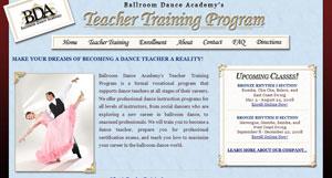 Learn To Teach Ballroom - The Ballroom Dance Academy
