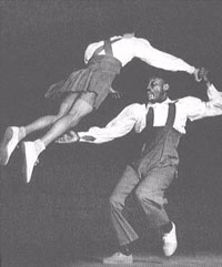 Learn to Lindy Hop Swing Dance in Los Angeles