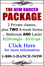 New Dancer Package Introductory Special